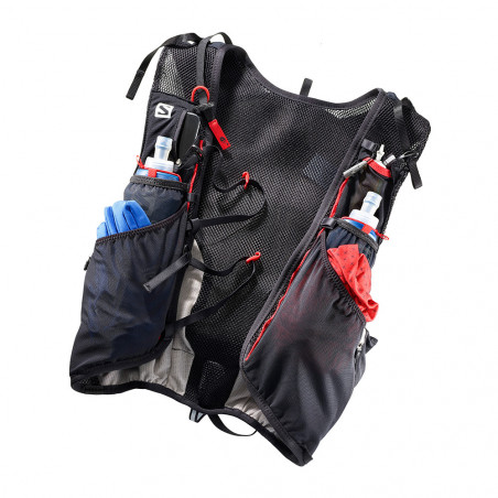 Salomon Sacs hydratation longue distance Adv Skin 12 Set Bk/matado